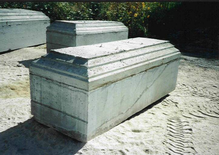 outer burial containers Outer burial containers, sometimes referred to as vaults, are required by most cemeteries in the region their function is to support the weight of the earth to help prevent sunken graves.